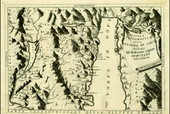 La carta della Riviera di Vincenzo Coronelli (1694)