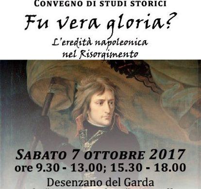 Fu vera gloria? – Convegno, Desenzano del Garda, 7 ottobre 2017