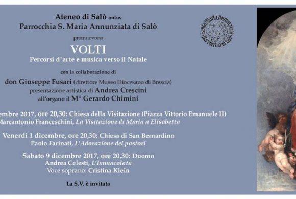 Volti. Percorsi d'arte e musica verso il Natale, 24 novembre 2017