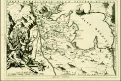 Carta della Riviera di Vincenzo Coronelli (1694)-sud