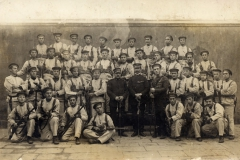 Equipaggi dei 3 MAS  a Maderno , 1918